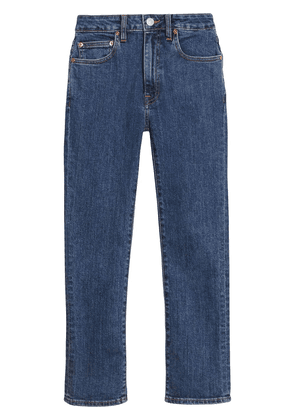 Burberry Straight Fit Japanese Denim Jeans - Blue