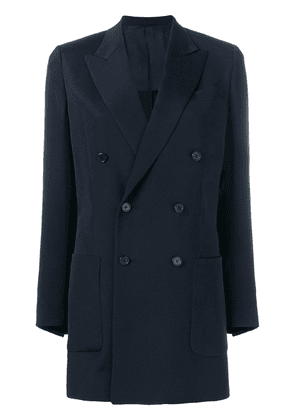 Valentino double breasted jacket - Blue