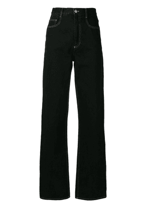 Isabel Marant straight leg denim - Black