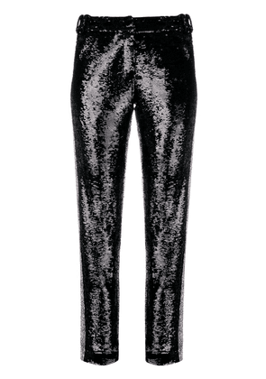 Balmain sequinned trousers - Black