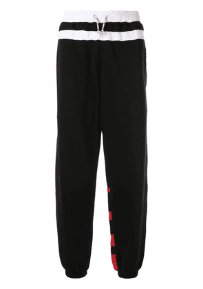 Marni contrast panels track trousers - Black