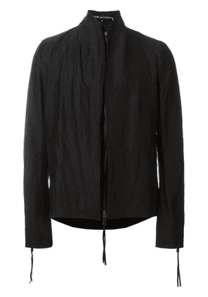 Cedric Jacquemyn short zipper back jacket - Black