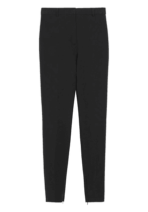 Burberry Stretch Jersey Tailored Trousers - Black