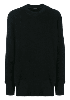 Ann Demeulemeester Icon plain sweatshirt - Black