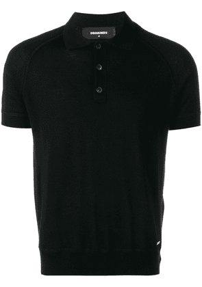 Dsquared2 classic polo shirt - Black