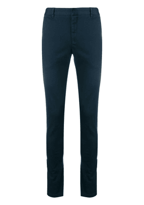 Balmain slim-fit tailored trousers - Blue