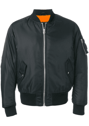 Calvin Klein 205W39nyc classic zipped bomber jacket - Black