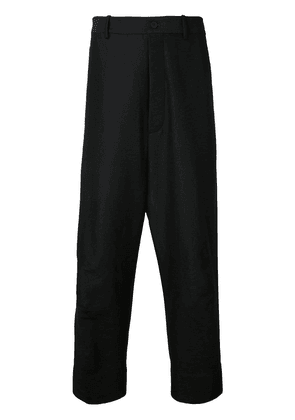 Forme D'expression tailored baggy pants - Black