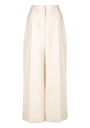Valentino tailored culottes - White