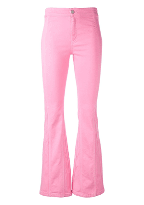 Givenchy skinny fit flared trousers - Pink
