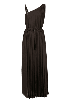 GINGER & SMART Depth pleat gown - Brown