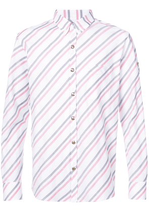 Moncler striped shirt - White