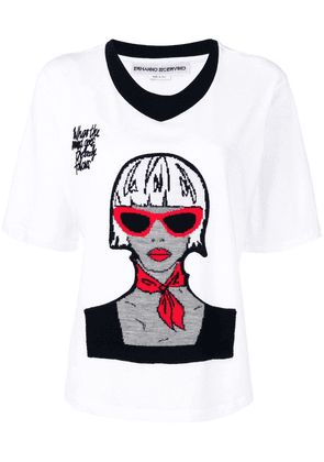 Ermanno Scervino printed T-shirt - White