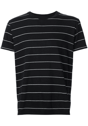 Saint Laurent classic striped T-shirt - Black