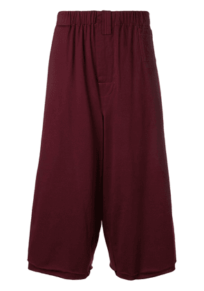 Marni oversized baggy shorts - Red