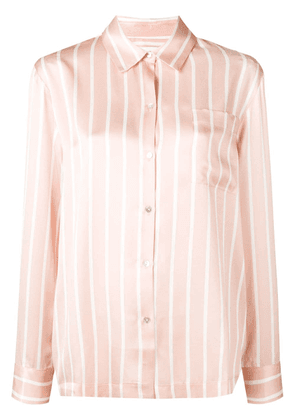 Asceno striped pyjama shirt - Pink