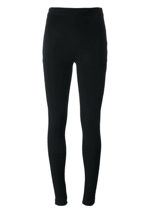 Givenchy embroidered star leggings - Black