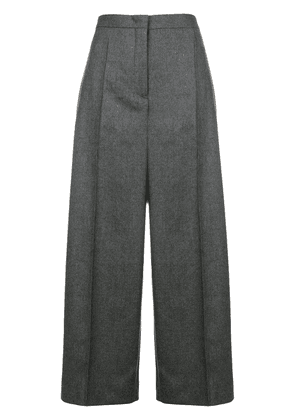 Jil Sander flared tailred trousers - Grey