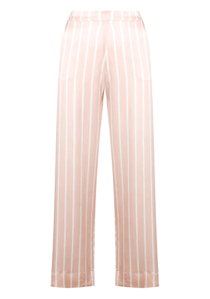 Asceno striped pyjama trousers - Pink