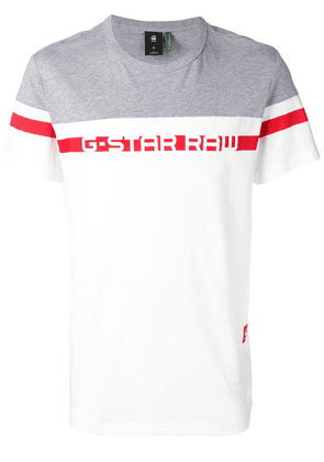 G-Star Raw Research logo printed T-shirt - White