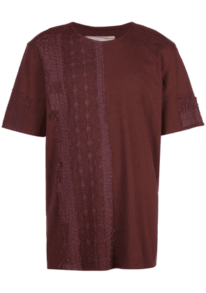 By Walid textured T-shirt