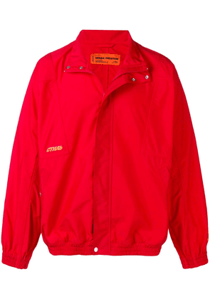 Heron Preston concealed fastening jacket - Red