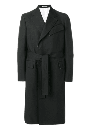 Calvin Klein 205W39nyc double breasted coat - Black