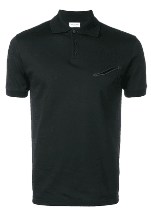 Saint Laurent Western style polo shirt - Black