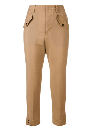 No21 tapered trousers - Neutrals