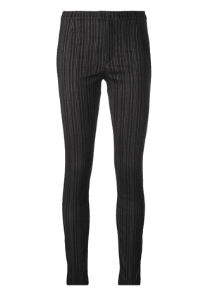 Isabel Marant striped skinny trousers - Grey