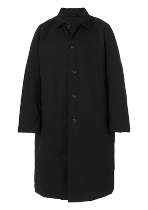 Casey Casey waxed coat - Black