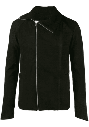A New Cross zipped fitted jacket - Black