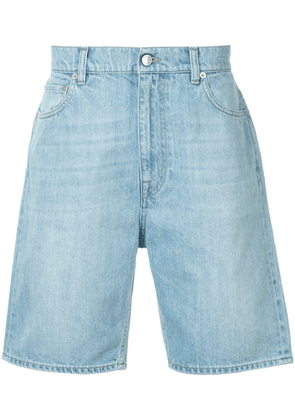 Cerruti 1881 denim bermuda shorts - Blue