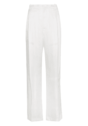 Givenchy wide leg trousers - White