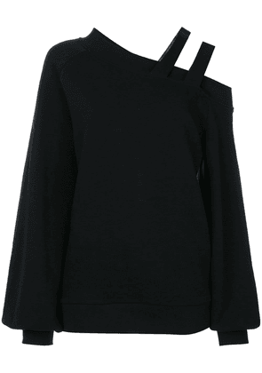 Ioana Ciolacu asymmetric knit jumper - Black