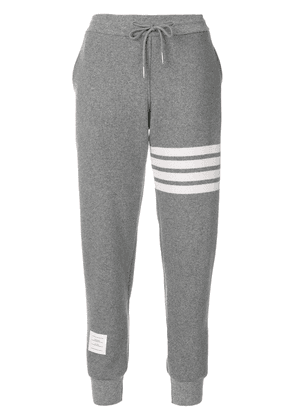 Thom Browne Engineered 4-bar Stripe Sweatpants In Double-Faced