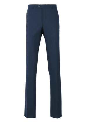 Lanvin tailored straight fit trousers - Blue