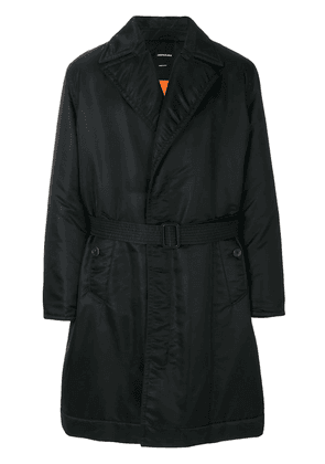 Calvin Klein 205W39nyc fitted trench coat - Black