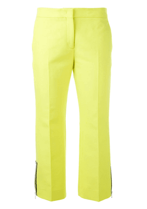No21 tailored cropped trousers - Yellow