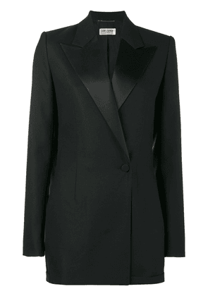 Saint Laurent tuxedo playsuit - Black