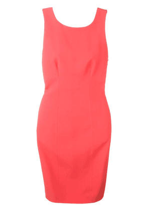 Capucci open back tube dress - Pink