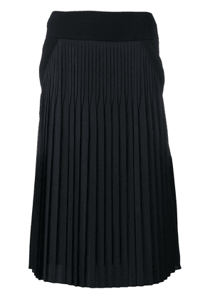 Givenchy mid-length contrast skirt - Black