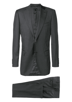Caruso single breasted suit - Grey