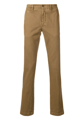 Moncler classic chinos - Brown