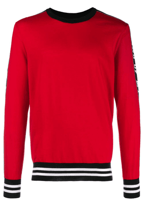 Dolce & Gabbana King Of My Life jumper - Red