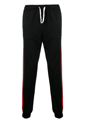 Gucci relaxed track trousers - Black