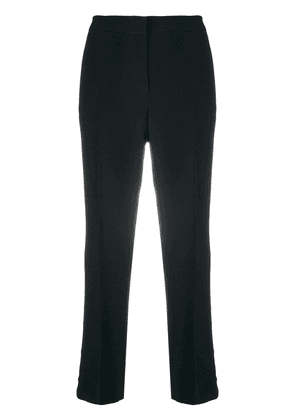 No21 cropped flared trousers - Black