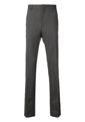 Calvin Klein 205W39nyc side striped tailored trousers - Grey