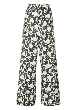 Christian Wijnants Pega floral trousers - Green