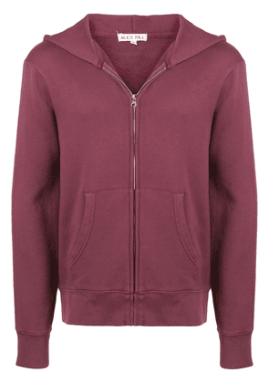 Alex Mill zip front hoodie - Red
